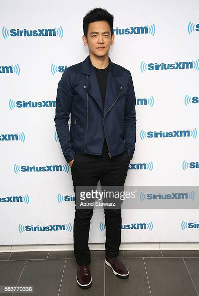 Actor John Cho visits the SiriusXM Studios on July 27 2016 in New York City