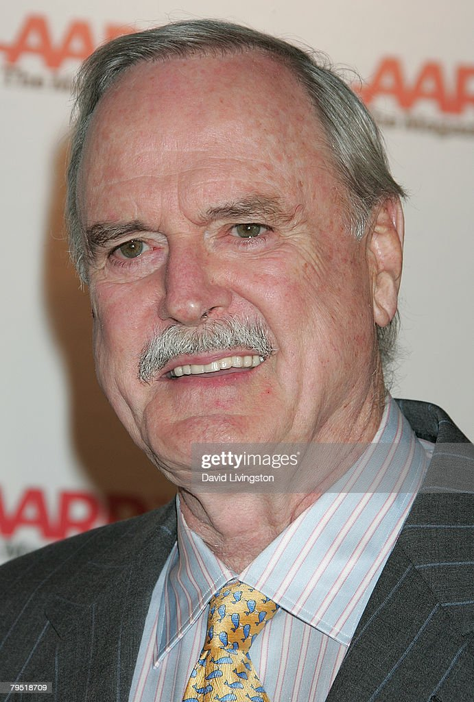 Actor John Cleese attends AARP The Magazine's seventh annual Movies for Grownups Awards at the Hotel Bel Air February 4, 2008 in Los Angeles, California.