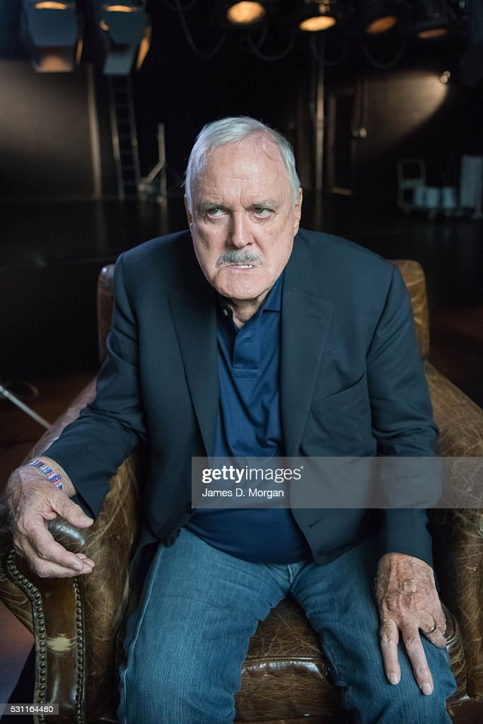 Actor John Cleese poses for portrait at Nida on February 17, 2016 in Sydney, Australia.