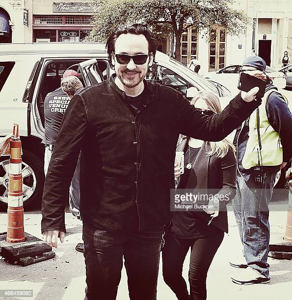 Actor John Cusack arrives at the premiere of 'Love Mercy' during the 2015 SXSW Music Film Interactive Festival at the Paramount Theatre on March 15...