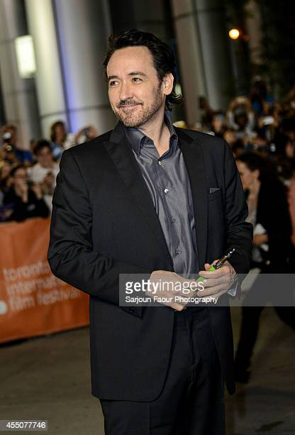 Actor John Cusack attends the 'Maps to the Stars' premiere during the 2014 Toronto International Film Festival at Roy Thomson Hall on September 9...