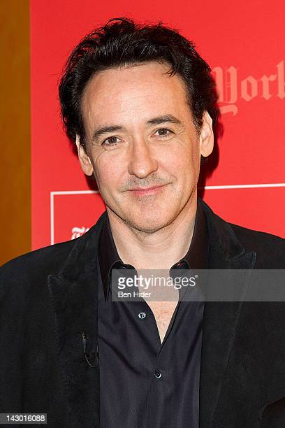 Actor John Cusack attends TimesTalk A Conversation With John Cusack at The Times Center on April 17 2012 in New York City