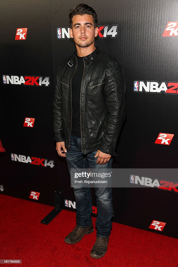 Actor John DeLuca attends the premiere party for the NBA2K14 video game at Greystone Mansion on September 24, 2013 in Beverly Hills, California.