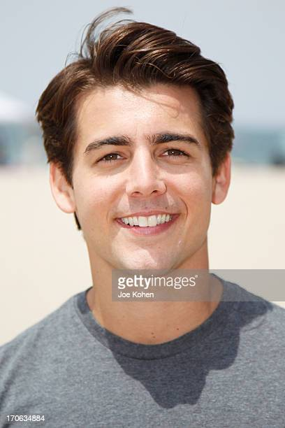 Actor John DeLuca star of Disney's 'Teen Beach Movie' Joins Heal The Bay For Beach Clean Up on June 15 2013 in Venice California