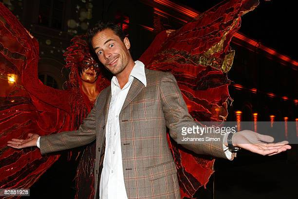 Actor John Friedmann attends the 'Fabulous Celebration' at Nymphenburg Castle on September 18 2008 in Munich Germany French champagne producer Moet...