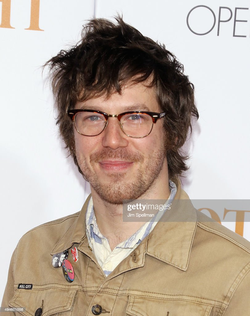 Actor John Gallagher Jr. attends the 'Spotlight' New York premiere at Ziegfeld Th... Show more - actor-john-gallagher-jr-attends-the-spotlight-new-york-premiere-at-picture-id494651556