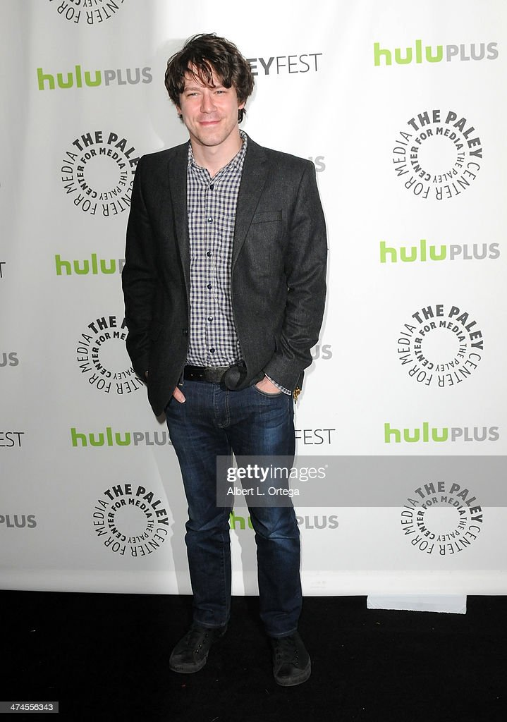 Actor John Gallagher Jr. participates in The Paley Center For Media's PaleyFest 2013 Honoring 'The Newsroom' held at The Saban Theater on March 3, 2013 in Beverly Hills, California.