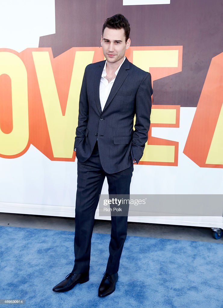 Actor John Garet Stoker attends The 2015 MTV Movie Awards at Nokia Theatre LA Live on April 12 2015 in Los Angeles California