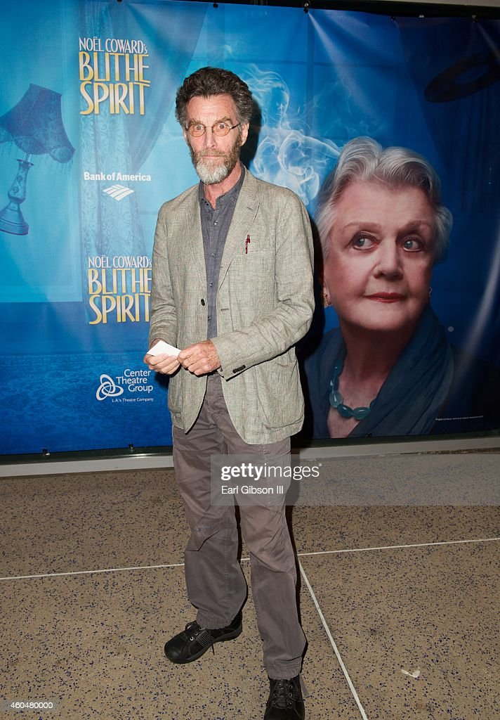 Actor John Glover attends Noel Coward's 'Blithe Spirit'Los Angeles Opening Night Performance at Ahmanson Theatre on December 14 2014 in Los Angeles...