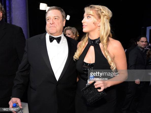Actor John Goodman and wife...