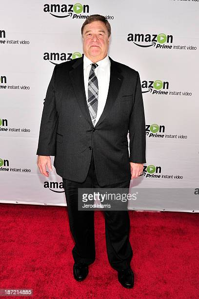 Actor John Goodman arrives at Amazoncom red carpet launch party for 'Alpha House' and 'Betas' Los Angeles Premieres at Boulevard3 on November 6 2013...