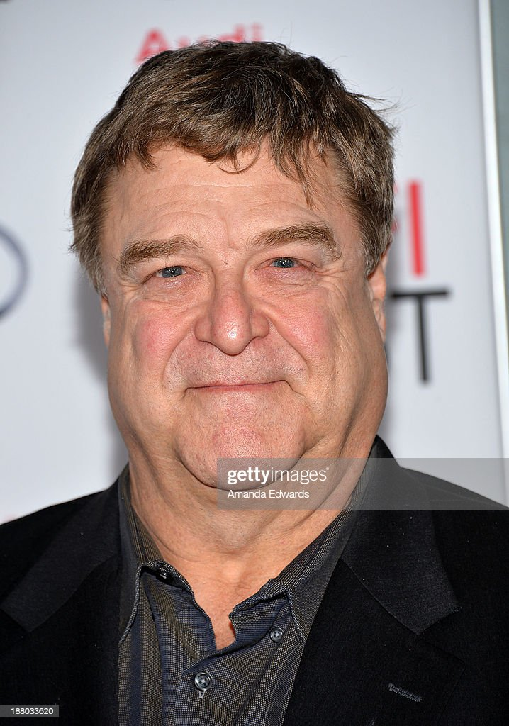 Actor John Goodman arrives at the AFI FEST 2013 Presented By Audi 'Inside llewyn Davis' closing night gala premiere at the TCL Chinese Theatre on...