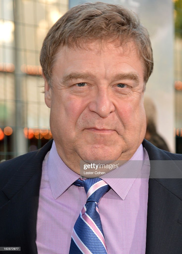 Actor John Goodman arrives at the 'Trouble With The Curve' Premiere at Mann's Village Theatre on September 19, 2012 in Westwood, California.