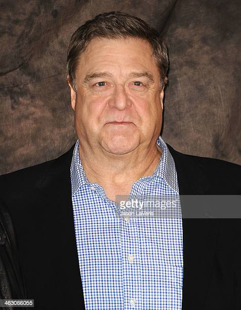 Actor John Goodman attends a photo call for 'The Monuments Men' at Four Seasons Hotel Los Angeles at Beverly Hills on January 16 2014 in Beverly...