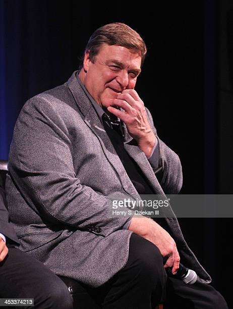Actor John Goodman attends an Official Academy Members Screening of 'Inside Llewn Davis' Hosted by The Academy of Motion Picture Arts and Sciences at...