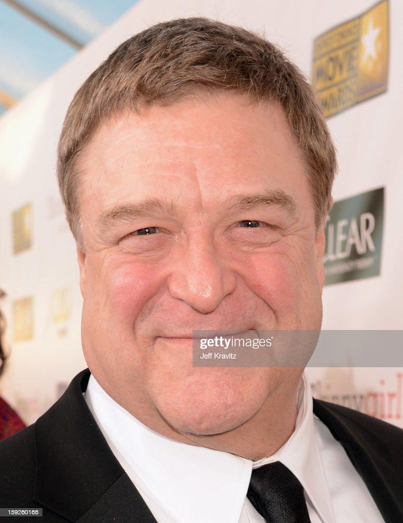 Actor John Goodman attends the 18th Annual Critics' Choice Movie Awards at Barker Hangar on January 10, 2013 in Santa Monica, California.