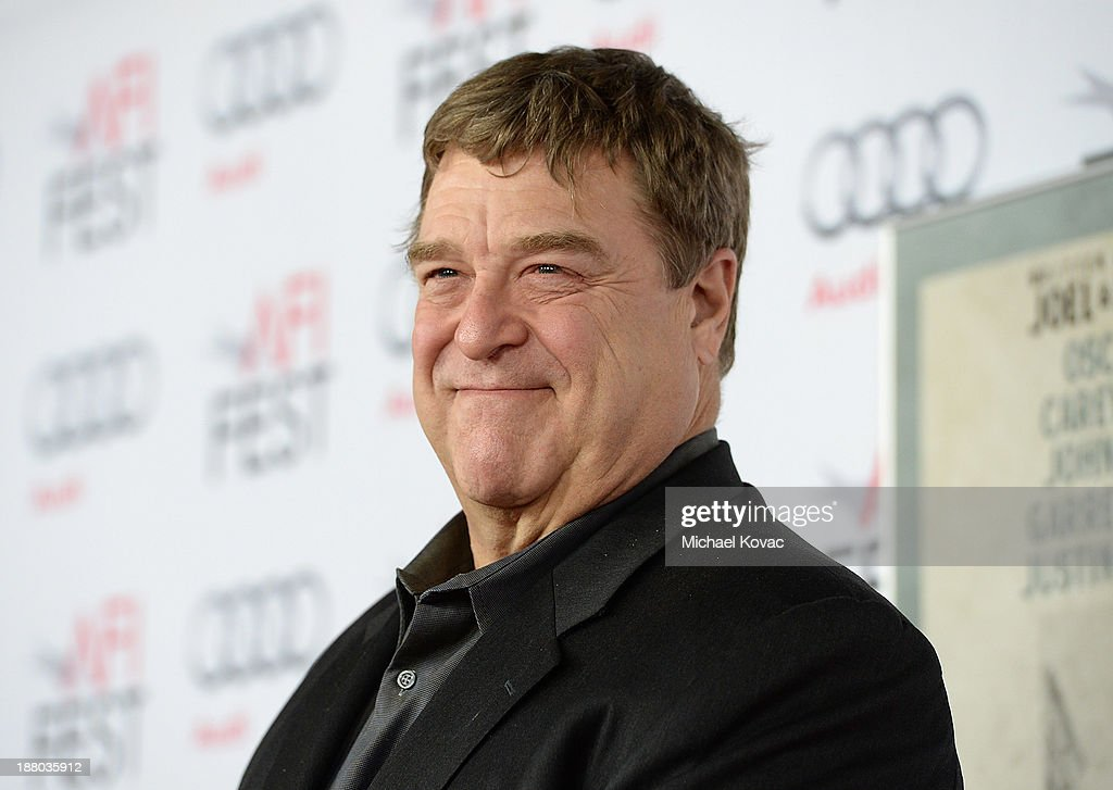 Actor John Goodman attends the AFI FEST 2013 presented by Audi closing night gala screening of 'Inside Llewyn Davis' at TCL Chinese Theatre on...