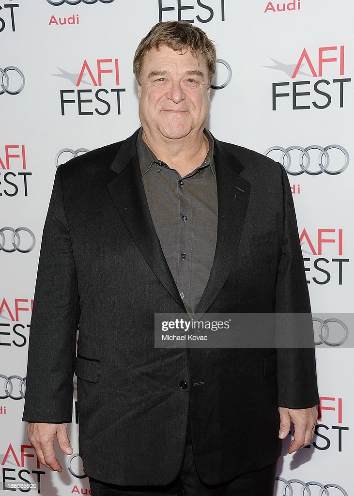 Actor <a gi-track='captionPersonalityLinkClicked' href=/galleries/search?phrase=John+Goodman+-+Actor&family=editorial&specificpeople=207076 ng-click='$event.stopPropagation()'>John Goodman</a> attends the AFI FEST 2013 presented by Audi closing night gala screening of 'Inside Llewyn Davis' at TCL Chinese Theatre on November 14, 2013 in Hollywood, California.
