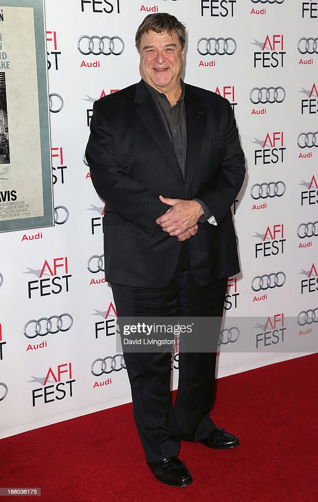 Actor John Goodman attends the AFI FEST 2013 presented by Audi Closing Night Gala Screening of 'Inside Llewyn Davis' at the TCL Chinese Theatre on...