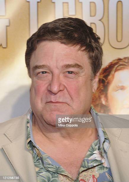 Actor John Goodman attends 'The Big Lebowski' Bluray release at the Hammerstein Ballroom on August 16 2011 in New York City