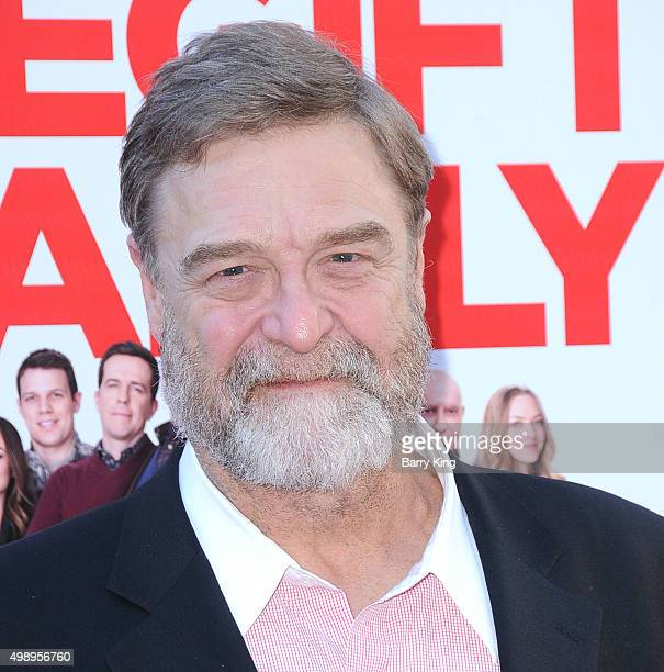 Actor John Goodman attends the Premiere Of CBS Films' 'Love The Coopers' at the Grove Park Plaza on November 12 2015 in Los Angeles California