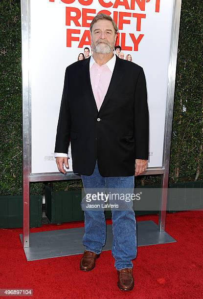 Actor John Goodman attends the premiere of 'Love The Coopers' at Park Plaza on November 12 2015 in Los Angeles California