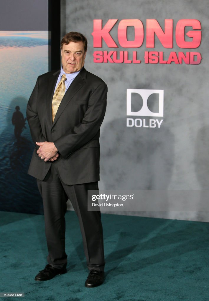 Actor John Goodman attends the premiere of Warner Bros. Pictures' 'Kong: Skull Island' at Dolby Theatre on March 8, 2017 in Hollywood, California.
