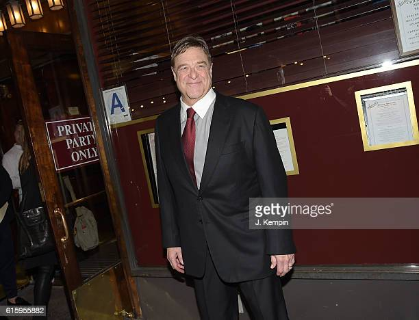 Actor John Goodman attends the 'The Front Page' Broadway Opening Night after party at Sardi's on October 20 2016 in New York City