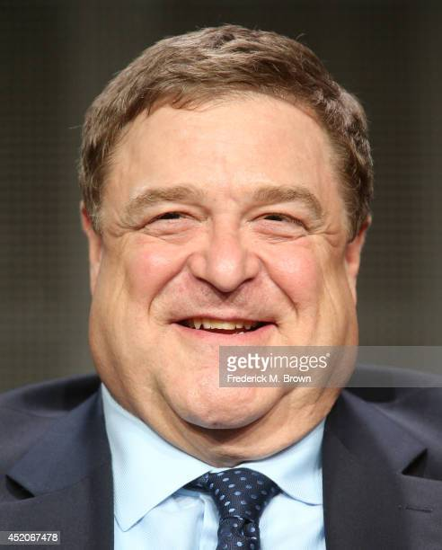 Actor John Goodman speaks onstage at the 'Alpha House' panel during the Amazon Prime Instant Video portion of the 2014 Summer Television Critics...