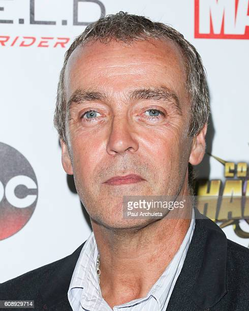 Actor John Hannah attends the premiere of ABC's 'Agents Of SHIELD' Season 4 at Pacific Theatre at The Grove on September 19 2016 in Los Angeles...
