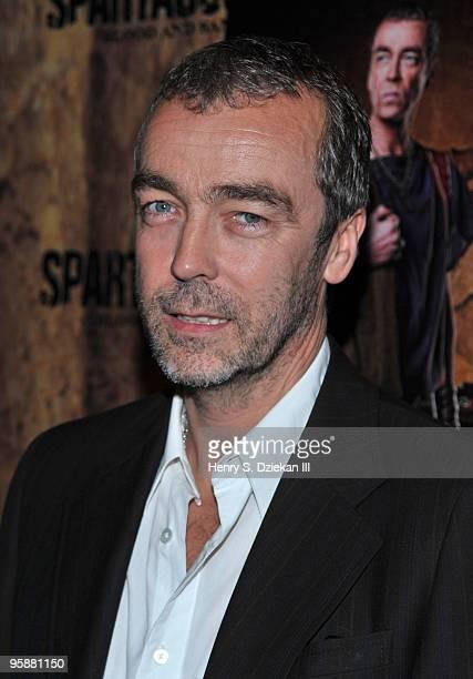 Actor John Hannah Spartacus