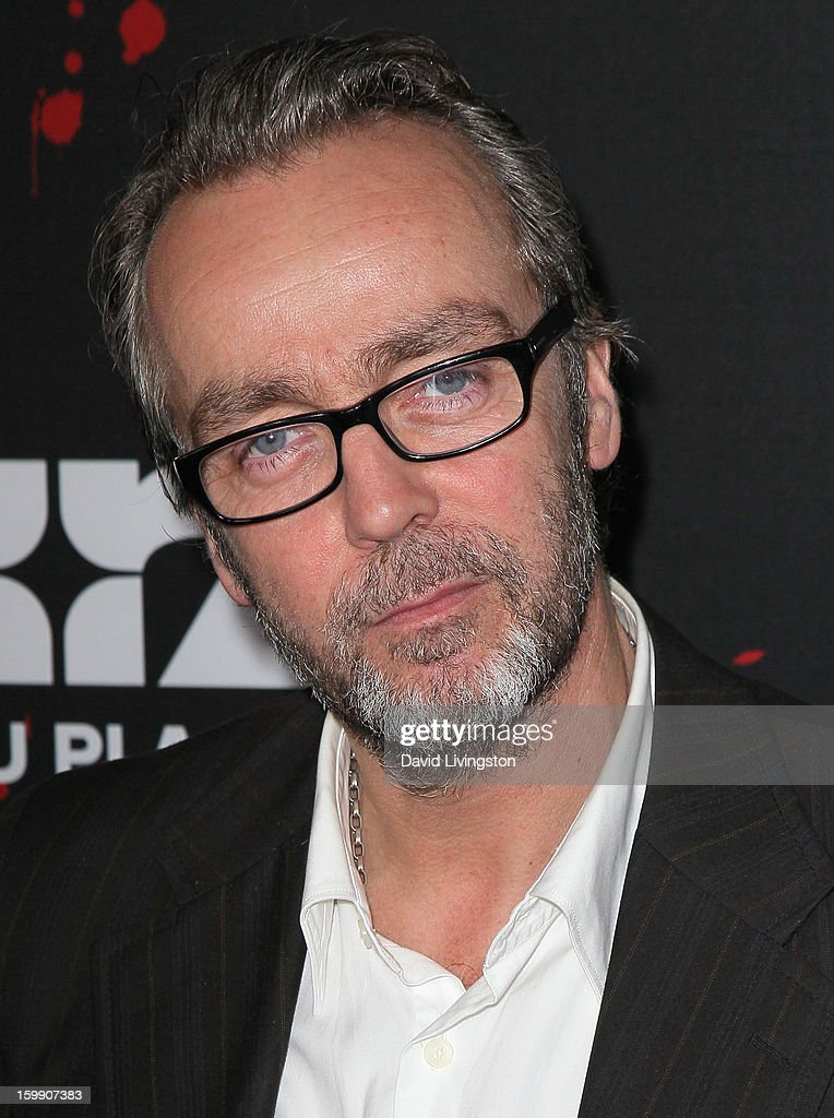 Actor John Hannah attends the premiere of Starz's 'Spartacus: War of the Damned' at Regal Cinemas L.A. Live on January 22, 2013 in Los Angeles, California.