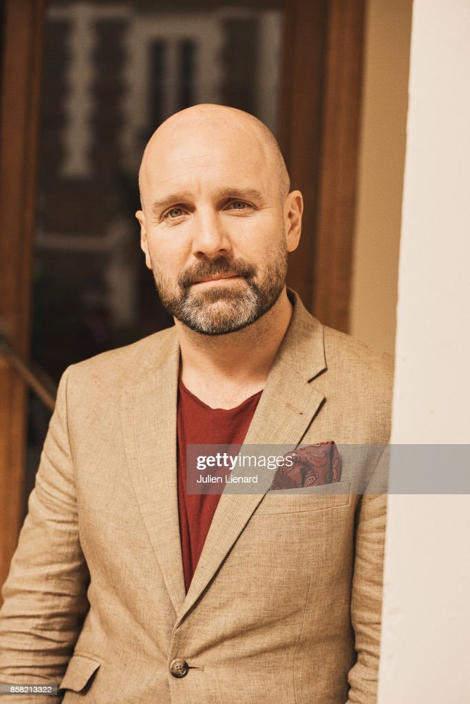 Actor John Harris is photographed for Self Assignment on September 30, 2017 in Dinard, France.