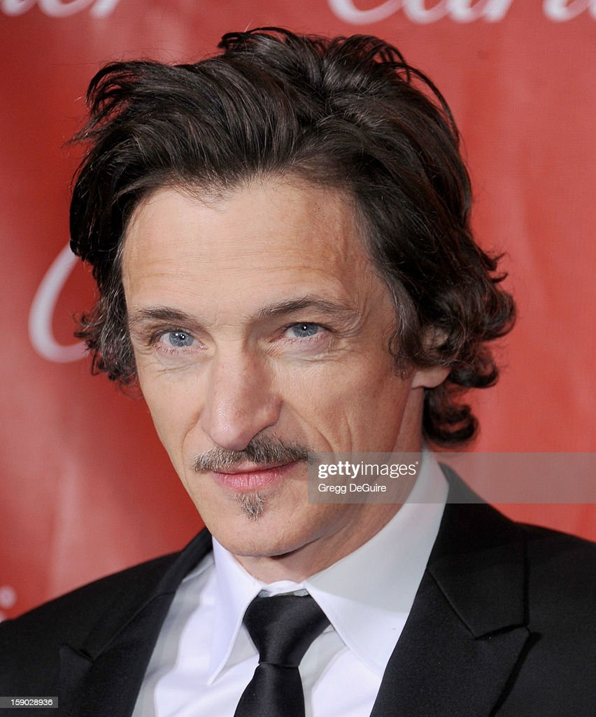 Actor John Hawkes arrives at the 24th Annual Palm Springs International Film Festival Awards Gala at Palm Springs Convention Center on January 5, 2013 in Palm Springs, California.