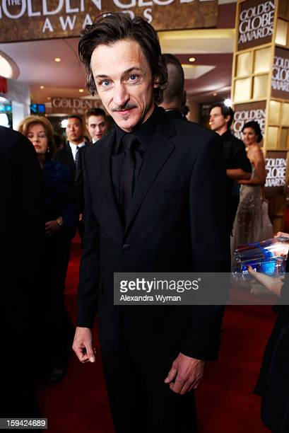 Actor John Hawkes arrives at the 70th Annual Golden Globe Awards held at The Beverly Hilton Hotel on January 13 2013 in Beverly Hills California