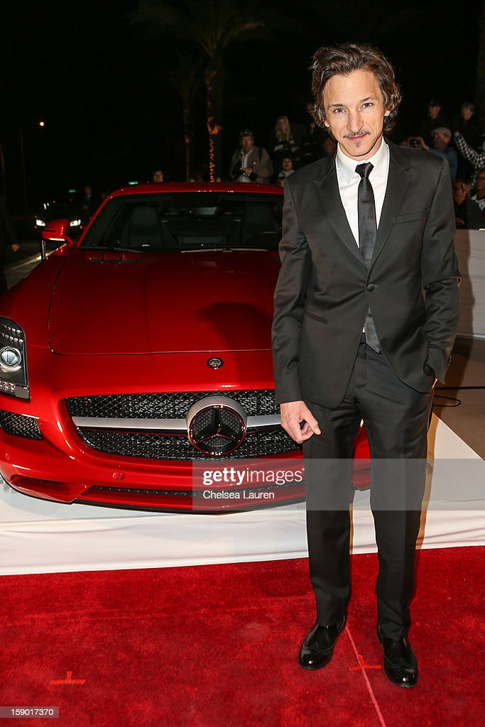 Actor John Hawkes arrives in style with Mercedes-Benz at the Palm Springs International Film Festival at the Palm Springs Convention Center on January 5, 2013 in Palm Springs, California.
