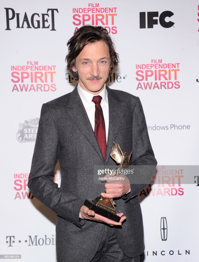 Actor <a gi-track='captionPersonalityLinkClicked' href=/galleries/search?phrase=John+Hawkes+-+Attore&family=editorial&specificpeople=224944 ng-click='$event.stopPropagation()'>John Hawkes</a> attends the 2013 Film Independent Spirit Awards After Party hosted by Microsoft Windows Phone at The Bungalow at The Fairmont Hotel on February 23, 2013 in Santa Monica, California.
