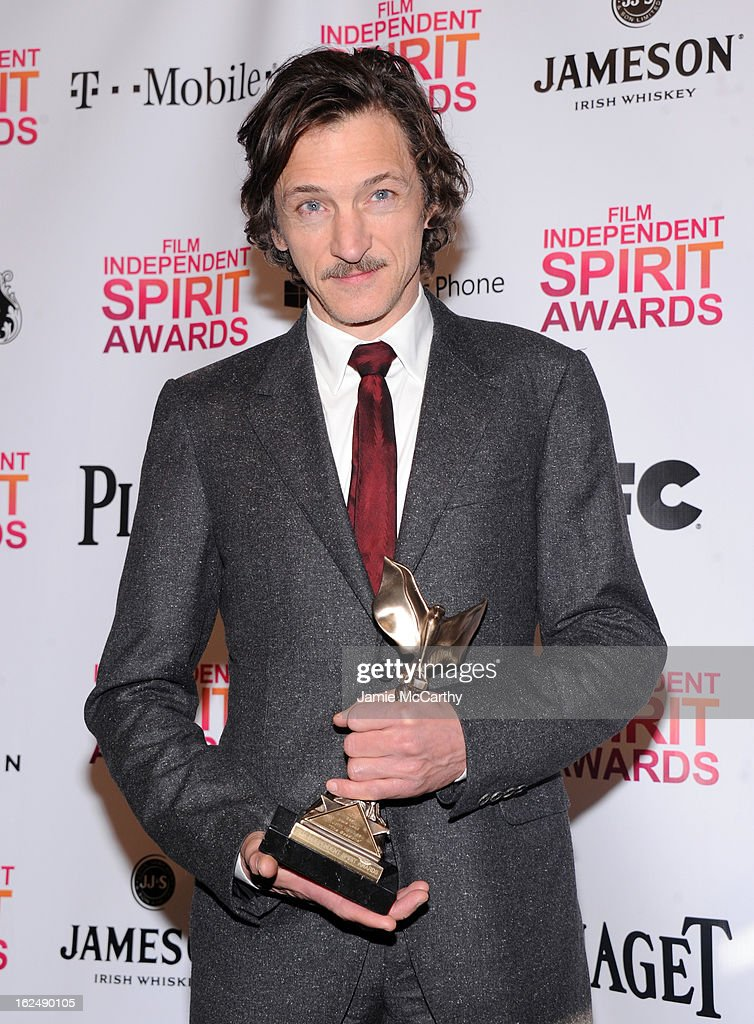Actor <a gi-track='captionPersonalityLinkClicked' href=/galleries/search?phrase=John+Hawkes+-+Actor&family=editorial&specificpeople=224944 ng-click='$event.stopPropagation()'>John Hawkes</a> attends the 2013 Film Independent Spirit Awards After Party hosted by Microsoft Windows Phone at The Bungalow at The Fairmont Hotel on February 23, 2013 in Santa Monica, California.