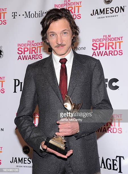 Actor John Hawkes attends the 2013 Film Independent Spirit Awards After Party hosted by Microsoft Windows Phone at The Bungalow at The Fairmont Hotel...