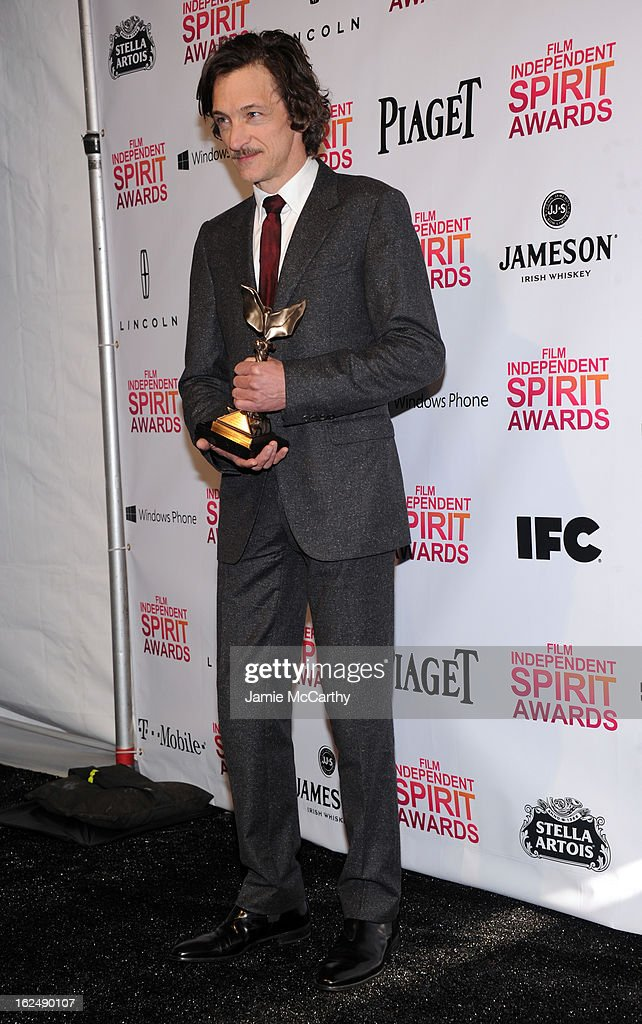 Actor John Hawkes attends the 2013 Film Independent Spirit Awards After Party hosted by Microsoft Windows Phone at The Bungalow at The Fairmont Hotel on February 23, 2013 in Santa Monica, California.