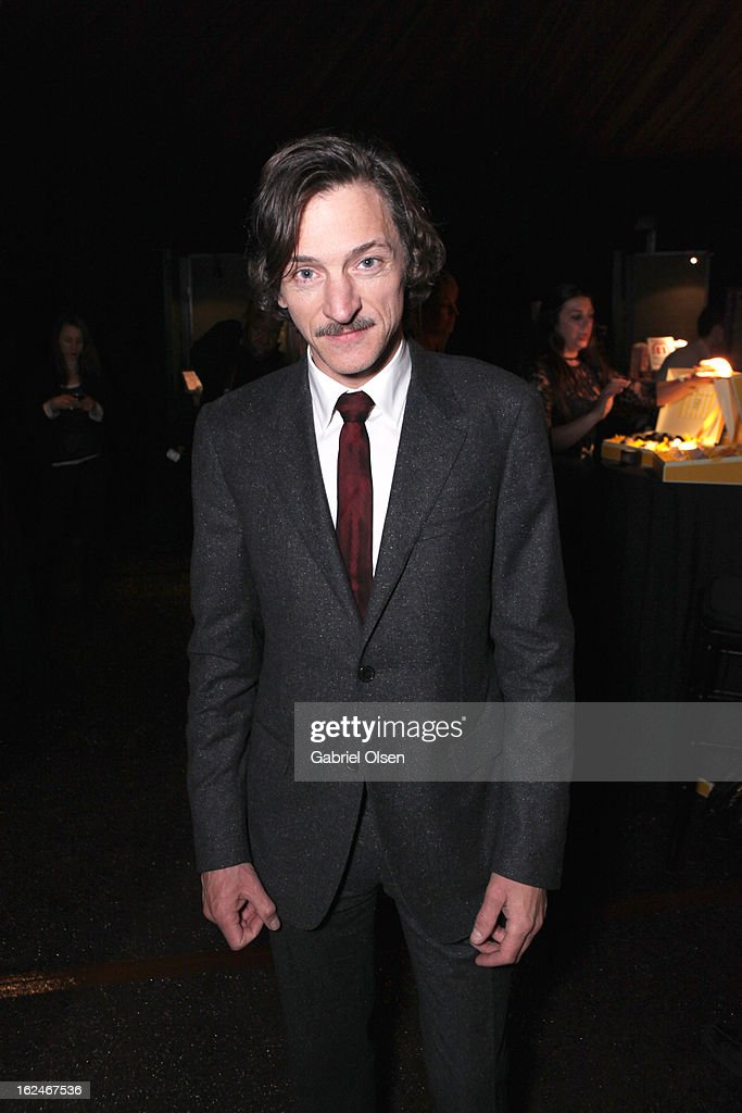 Actor <a gi-track='captionPersonalityLinkClicked' href=/galleries/search?phrase=John+Hawkes+-+Ator&family=editorial&specificpeople=224944 ng-click='$event.stopPropagation()'>John Hawkes</a> attends the On3 Official Presenter Gift Lounge during the 2013 Film Independent Spirit Awards at Santa Monica Beach on February 23, 2013 in Santa Monica, California.