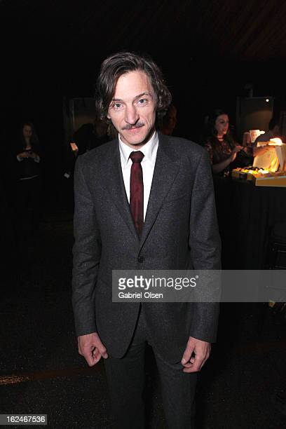 Actor John Hawkes attends the On3 Official Presenter Gift Lounge during the 2013 Film Independent Spirit Awards at Santa Monica Beach on February 23...