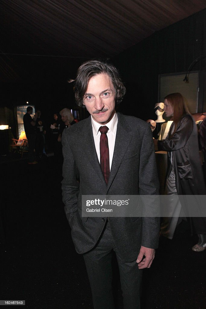 Actor <a gi-track='captionPersonalityLinkClicked' href=/galleries/search?phrase=John+Hawkes+-+Actor&family=editorial&specificpeople=224944 ng-click='$event.stopPropagation()'>John Hawkes</a> attends the On3 Official Presenter Gift Lounge during the 2013 Film Independent Spirit Awards at Santa Monica Beach on February 23, 2013 in Santa Monica, California.