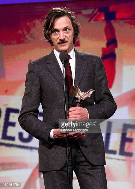 Actor John Hawkes onstage during the 2013 Film Independent Spirit Awards at Santa Monica Beach on February 23 2013 in Santa Monica California