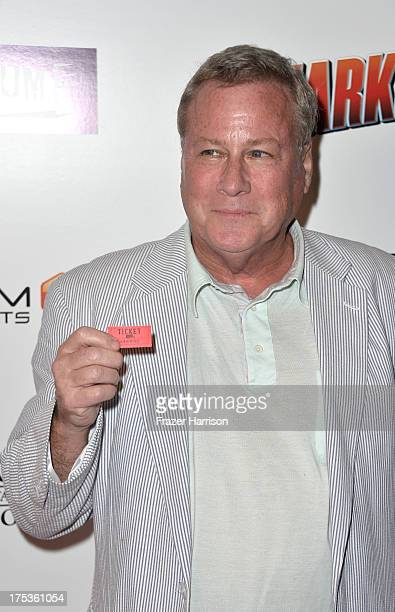 Actor John Heard arrives at Fathom Events Presents The Premiere Of The Asylum And Syfy's 'Sharknado' at Regal Cinemas LA Live on August 2 2013 in Los...