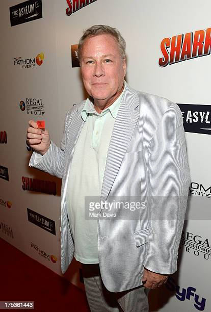 Actor John Heard attends 'Fathom Events Presents The Premiere Of The Asylum And Syfy's 'Sharknado' screening' on August 2 2013 in Los Angeles...