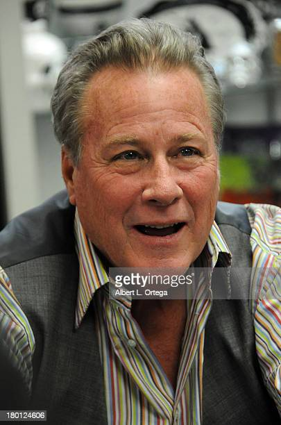 Actor John Heard participates in the 'Sharknado' DVD Signing held at Dark Delicacies Bookstore on September 8 2013 in Burbank California