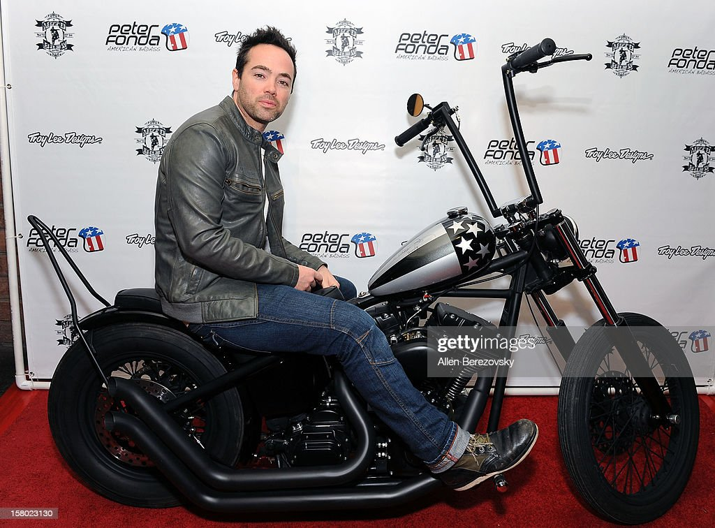 Actor John Hensley attends the launch of Peter Fonda's new men's fashion line and protective riding gear collection for Troy Lee Designs at Troy Lee Boutique & Design Center on December 8, 2012 in Laguna Beach, California.
