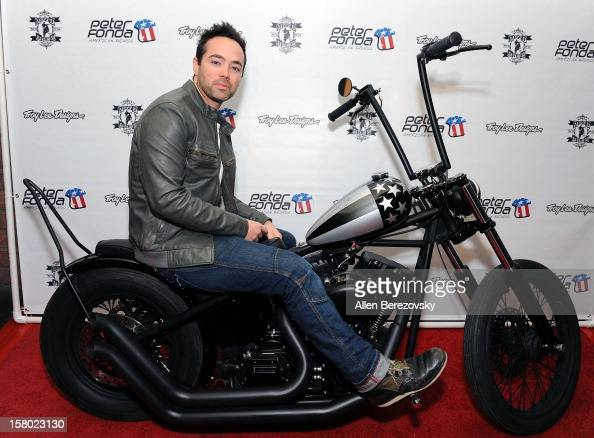 Actor John Hensley attends the launch of Peter Fonda's new men's fashion line and protective riding gear collection for Troy Lee Designs at Troy Lee...