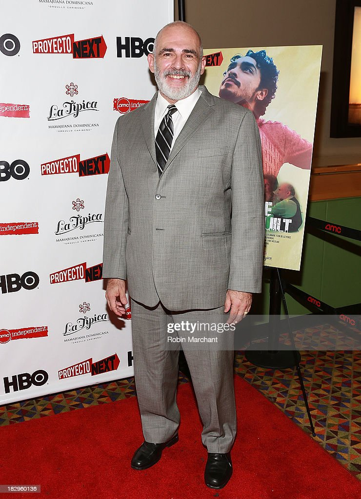 Actor John Herrera attends the premiere of the 'The House That Jack Built' at AMC Empire 25 theater on October 2, 2013 in New York City.